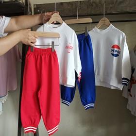 韩版儿童幼儿园服长袖长裤套装