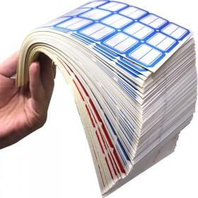 100张口取纸自粘性不干胶标签贴