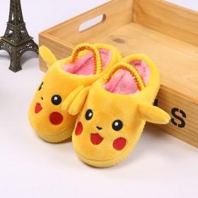 儿童棉拖鞋皮卡丘男童