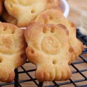 小熊饼干500克 三味混装