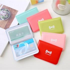 信用卡蝴蝶结可爱浪漫卡包韩版12可爱位卡时尚卡套