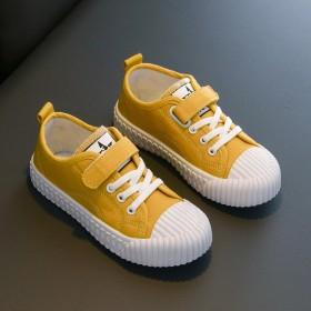 儿童帆布鞋春秋女童鞋宝宝单鞋男童板鞋低帮休闲鞋