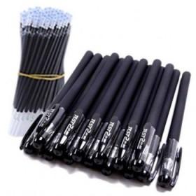 【包邮】10支多规格中性笔0.5黑色笔磨砂子弹头中