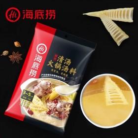 【2袋】海底捞清汤火锅底料调味料110g