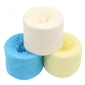 精梳纯棉线牛奶棉毛线棉纱线全棉宝宝婴儿线手编钩针毛