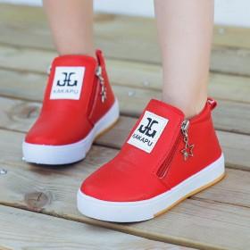 秋冬童鞋女童靴子儿童雪地靴
