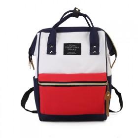 加厚日系ins双肩背包新款帆布书包休闲出游旅行包