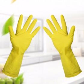 洗碗防水橡胶手套 家用洗衣服乳胶厨房防污耐