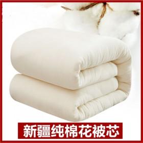 新疆纯棉花被子8斤6斤4斤棉被芯冬被垫被棉絮褥子