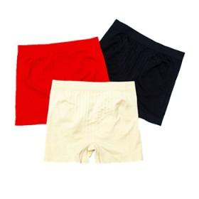 2条平角内裤女学生中腰女士防走光安全内裤女收腹裤
