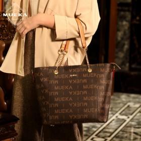 法国品牌秋冬中年妈妈包大容量时尚女士大气手提单肩包