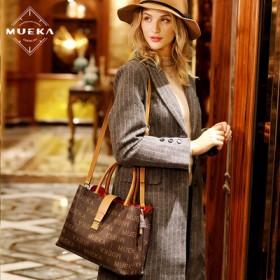 法国品牌秋冬质感女包妈妈大容量大气手提斜挎大包