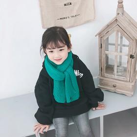 儿童围巾冬季新款毛线围巾男童女童针织围脖宝宝保暖