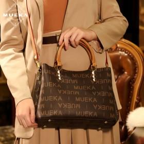 法国品牌大气手提秋冬时尚中年妈妈女包简约单肩斜挎包
