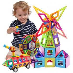 【好莱木】磁力片积木儿童玩具散片拼装益智