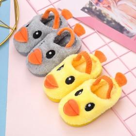 儿童棉拖鞋小鸭子冬季保暖拖鞋