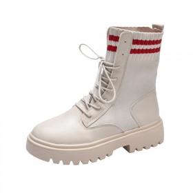 马丁靴女英伦风2019新款网红机车短靴时尚廋廋靴