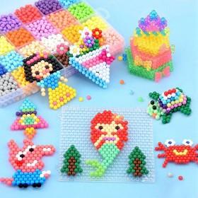 神奇水雾魔珠拼豆玩具儿童玩具男孩女孩礼物