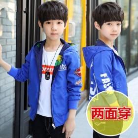 男童秋装帅气外套薄款儿童装春秋季夹克小男孩上衣韩版