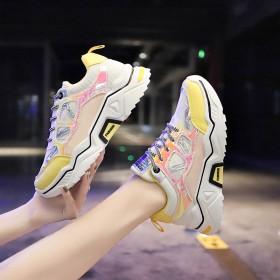 老爹鞋女秋显脚小ins潮网红休闲鞋新款韩版运动鞋