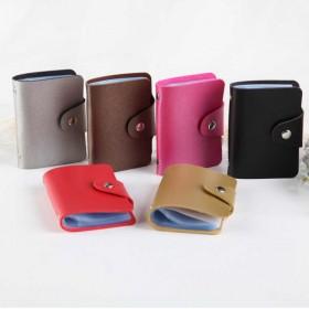 24卡位韩版女士多卡位卡包防消磁卡套男名片夹卡包