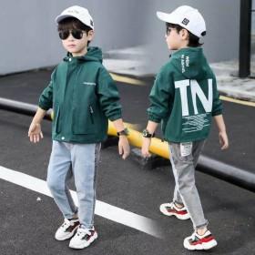 男童外套秋装2019新款韩版中大童外衣服上衣夹克儿