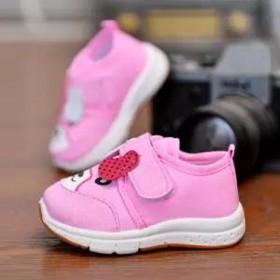 童鞋儿童学步鞋男童春秋帆布鞋软底运动鞋单