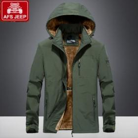 战地吉普大衣外套夹克衫