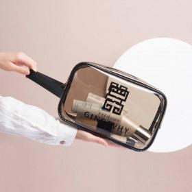 透明化妆包女大容量旅行便携防水ins网红化妆品收纳