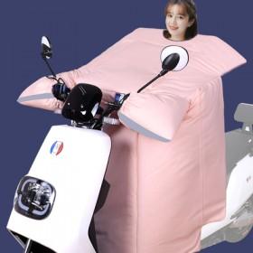 电动车摩托车加绒加厚防水防风挡风被手套
