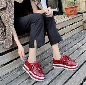 厚底单鞋女学生百搭