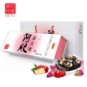 新品东阿红枣阿胶糕女士500克精品礼盒