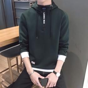 2019韩卫衣潮流外套连帽百搭春秋季套头T恤男士