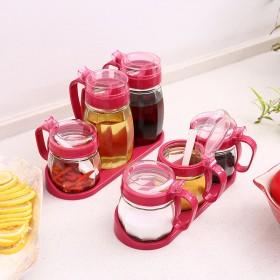 厨房用品玻璃调味罐油壶 调料盒 盐罐 高白加厚钠钙