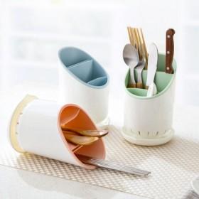塑料沥水筷子架勺子置物架筷笼多功能厨房餐具收纳架筷