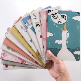 创意小清新文具笔记本子可爱韩版A5日记本