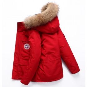 反季特卖男士羽绒服韩版修身加厚外套