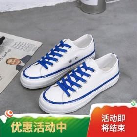 【亏本销售】酷奇女鞋帆布鞋女2019新款