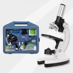 学生显微镜儿童科学专业生物实验室便携式1200倍