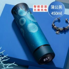 智能保温杯女男学生韩版可爱开水杯显示温度防烫杯子