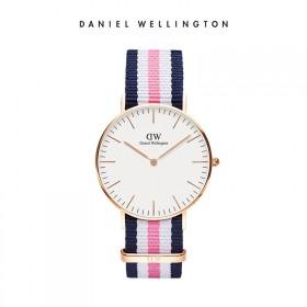 DW丹尼尔惠灵顿 手表新款欧美简约尼龙表带