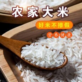2019年9月新大米10斤米晚稻米无抛光现磨