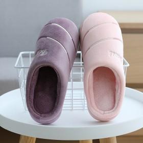 男女棉拖鞋加绒保暖