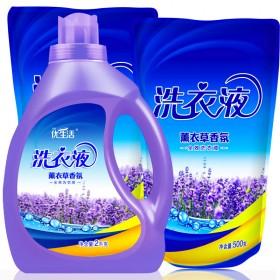 新品促销[6斤]紫瓶优生活薰衣草香氛洗衣液持久留