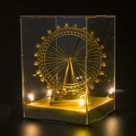 拼酷3D立体拼图金属拼装模型DIY手工益智玩具礼物