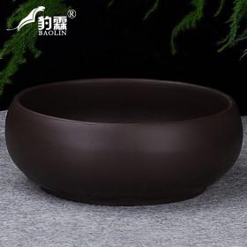 紫砂茶洗洗茶杯碗花盆1个