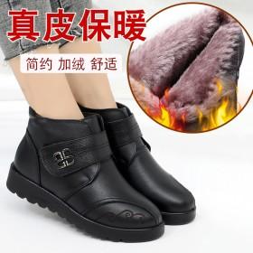 真皮加绒妈妈靴子多款可选