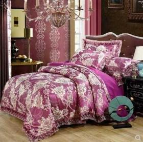 欧式提花四件套蕾丝花边1.82.0米套装床上用品