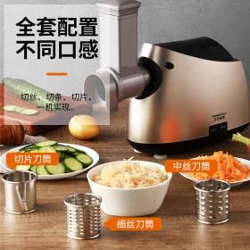 不锈钢绞肉机家用电动小型多功能商用全自动灌肠机