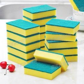 6片洗碗海绵擦百洁布清洁刷魔力擦碗洗锅刷锅